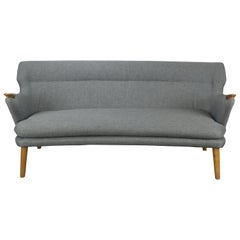Kurt Olsen 'Papa Bear' Model 220 Sofa by Slagelse Møbevaerk