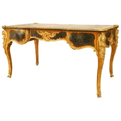 French Louis XV Style Verne Martin Painted Desk