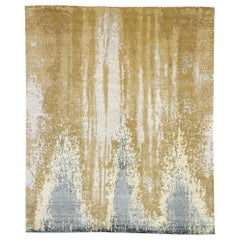 New Contemporary Area Rug with New Nordic and Beach Hygge Style