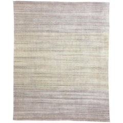 New Transitional Ombre Area Rug with French Country and Cottage Style