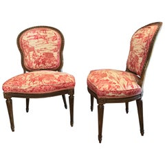 Set of 8 19th Century Period Style Louis XVI, Decoratively Carved Dining Chairs