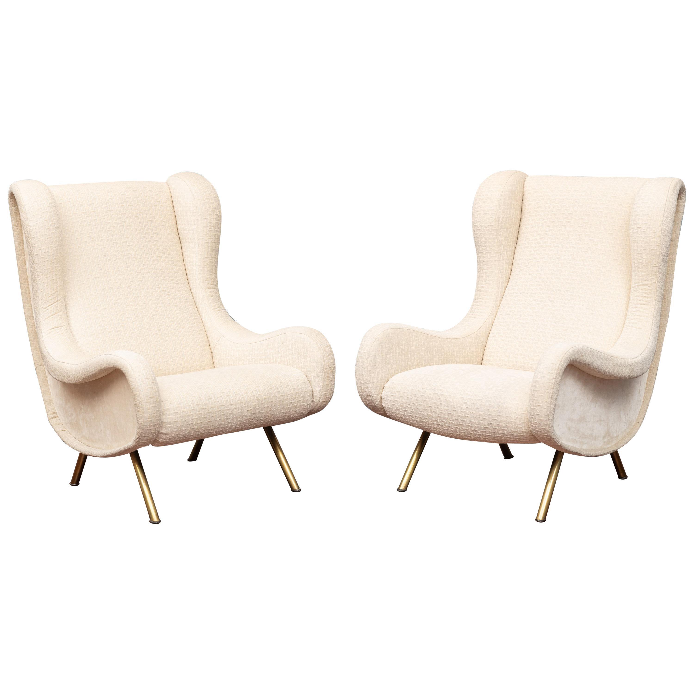 "Marco Zanuso ""Senior"" Chairs for Arflex"