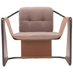 Amura 'Kimono' Armchair in Coffee by Andrea Quaglio & Manuela Simonelli