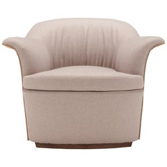 Amura 'Mathilde' Armchair in Taupe by Emanuel Gargano
