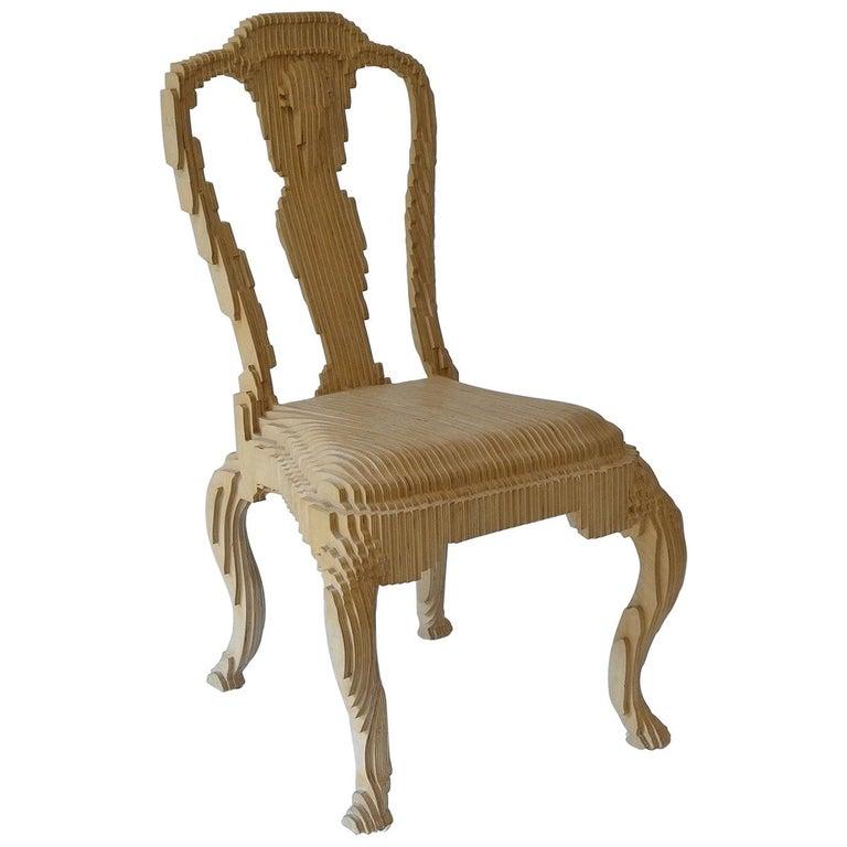 Clone Chair in Wood by Julian Mayor For Sale