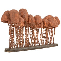 Model Maquette in Terracotta by Nacho Carbonell