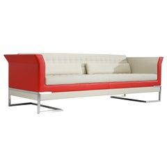 Amura 'Tiffany' Sofa in Ivory by Luca Scacchetti