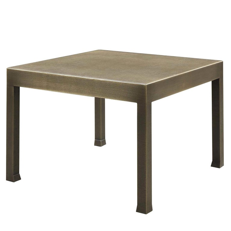 Gong Small Table by Promemoria For Sale