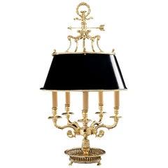 Black Table Lamp Five Lights by Badari