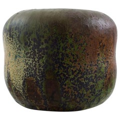 Patrick Nordstrøm or Carl Halier Stoneware Vase for Royal Copenhagen, circa 1920