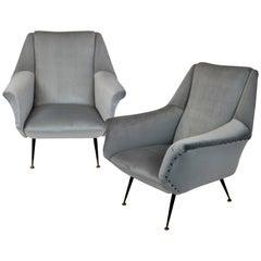 Pair of Armchairs by Gio Ponti