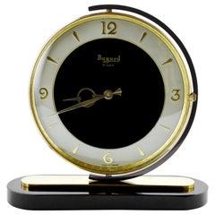 French Art Deco Swiveling Clock by Bayard, 1930s