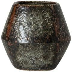 Unique Chamotte Vase by Carl-Harry Stålhane