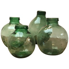Set of Four Storage Jars