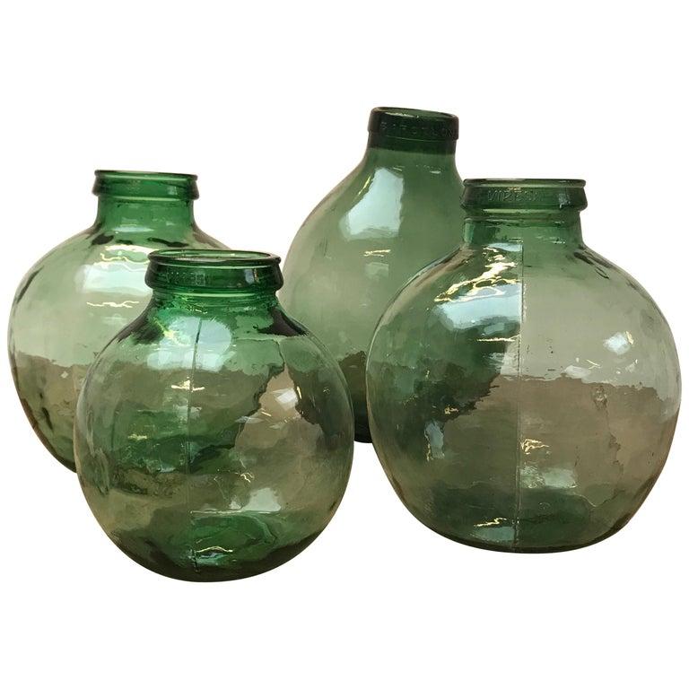 Set of Four Storage Jars For Sale