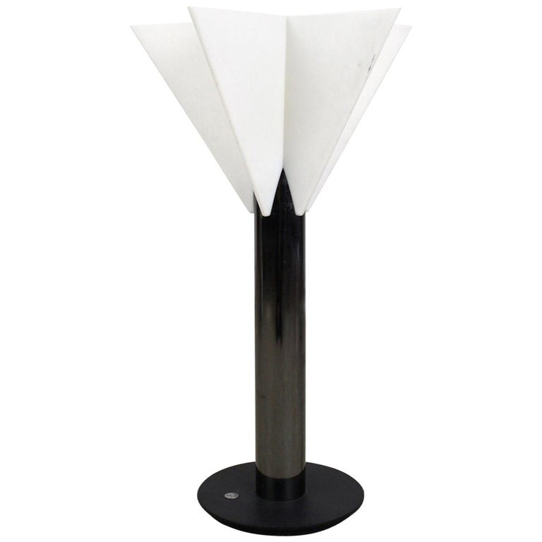 "Italian 1980s ""Astra"" Star Table Lamp by Salvatore Gregorietti for Status  Milan"