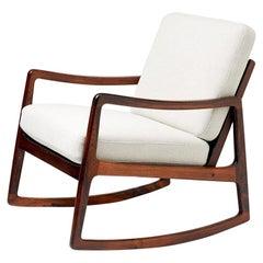 Ole Wanscher FD-120 Rosewood Rocking Chair, circa 1960