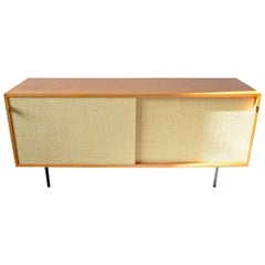 Sideboard by Florence Knoll for Knoll International 1960s, Teak and Seagrass