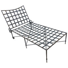 Mario Papperzini for Salterini Midcentury Chaise Lounge