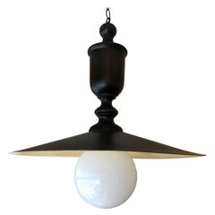 Stylish Dark Brown Metal Industrial Style Pendant Chandelier