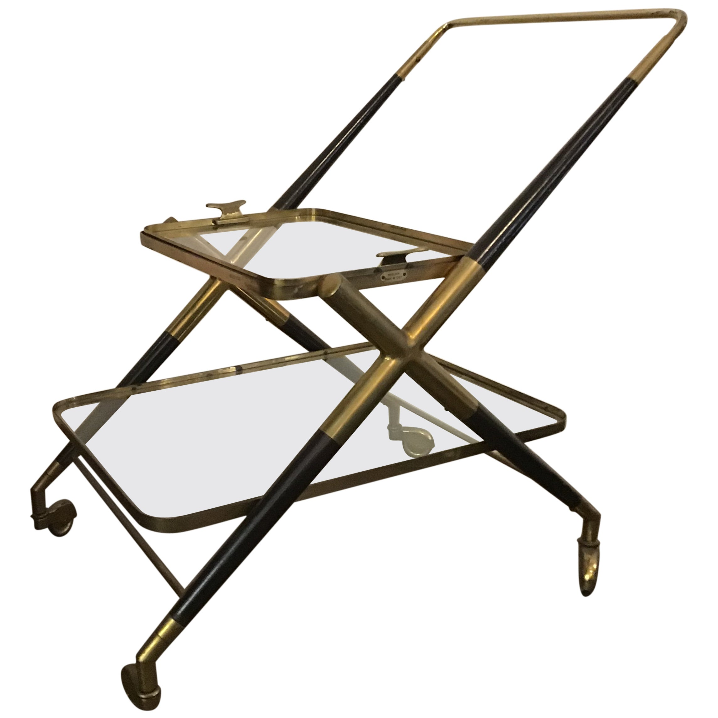 1950s Cesare Lacca Drinks Trolley