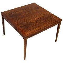 Midcentury Danish Rosewood Coffee Table by Møbelintarsia, 1950s