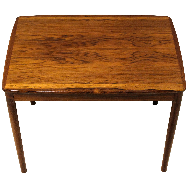 1950s Rosewood Small Coffee Table by Yngvar Sandström, Seffle Möbelfabrik