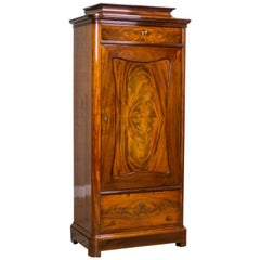 19th Century Biedermeier Linen Cabinet