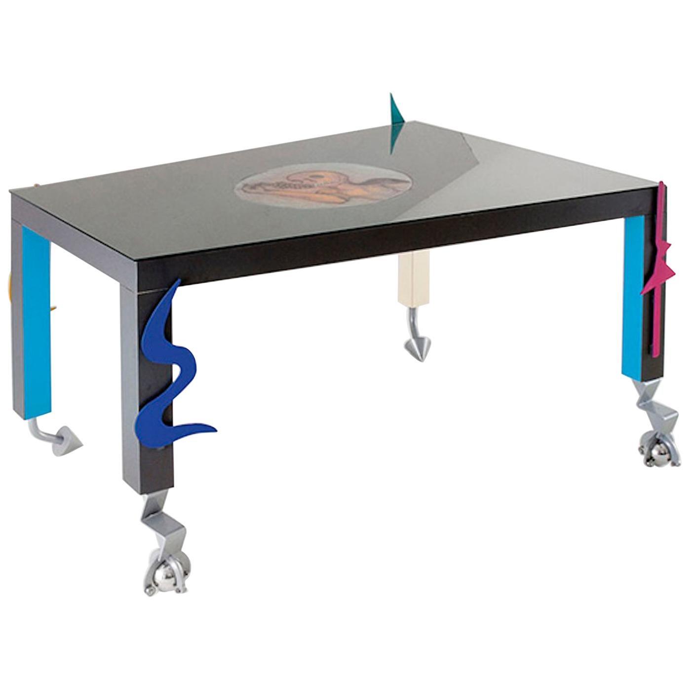 Table Infinito Model by Gruppo Alchimia, Italy