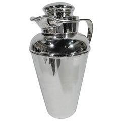 Gorham Art Deco Modern Sterling Silver Cocktail Shaker