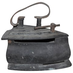 Antique Coal Iron, Early 20th Century