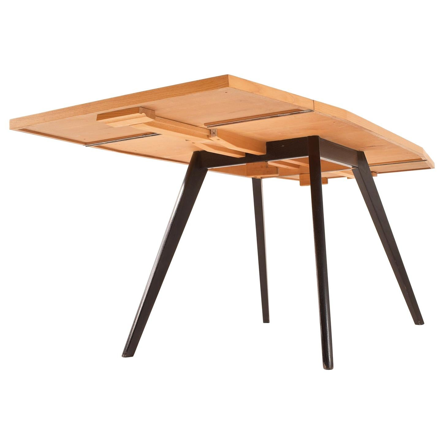 Superieur 1960 Foldable Dining Table, 1950, Switzerland
