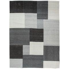 Modern Flat-Weave Carpet