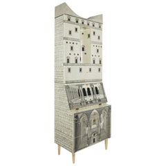 Fornasetti-Trumeau Architecture Black or Ivory, 2017
