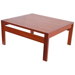 Ole Gjerlov-Knudsen France & Sons Teak Danish Scandinavian Modern Coffee Table