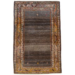 Persian Loristan Gabbeh Rug in Handspun Wool and Organic Vegetable Dyes