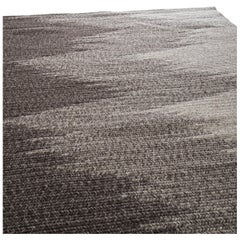 Tide Wool Rug in Brown, Custom Made in the USA