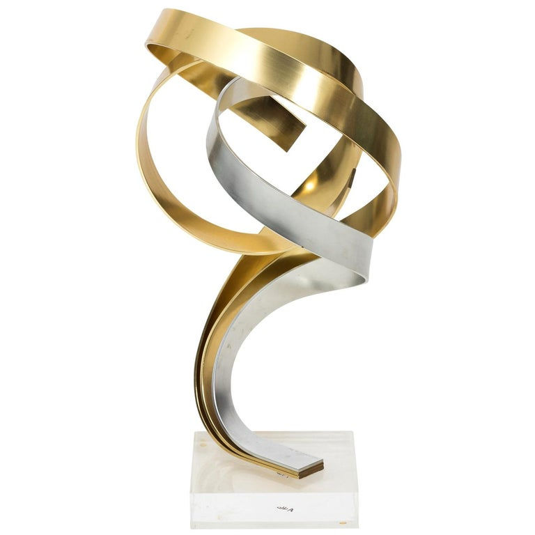 Mid-Century Modern Sculpture by Dan Murphy For Sale