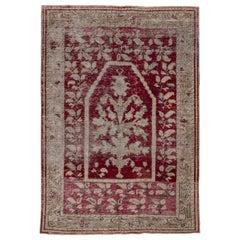 Antique Ghiordes Prayer Rug