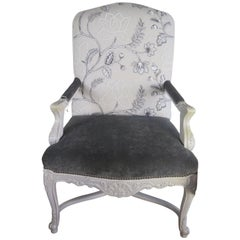 Lee Jofa Velvet Armchair