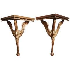 Pair of Decorative Italian Brackets