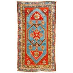 Antique Caucasian Kazak, circa 1880