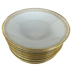 Rorstand Sweden Porcelain China Bowls, Set of Twelve