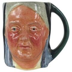 "Lancaster & Sandlan Ltd. Made in England Hand Painted Toby Mug ""Victoria"""