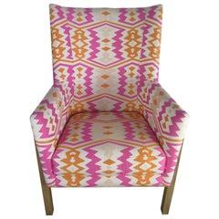 Winged Geometric Chair