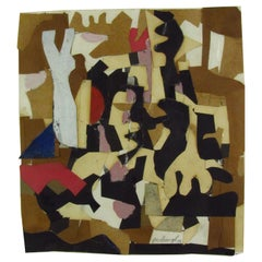 Robert Goodnough Cut Paper Collage