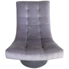 Lee Industries Tufted Swivel Chair