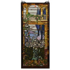 Scenic Stained Glass Window