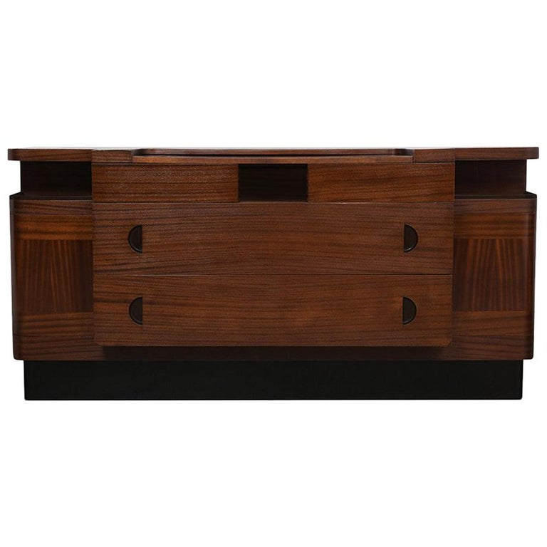 Italian Mid-Century Modern Lacquered Credenza For Sale