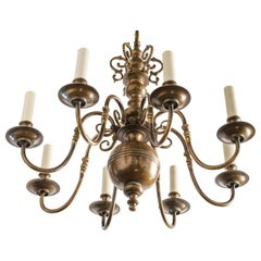 Smaller Scale Georgian Style Chandelier